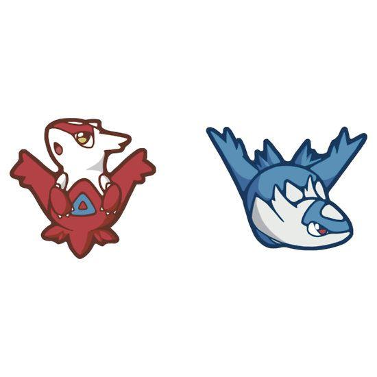 Pokémon / Latios and Latias by valione