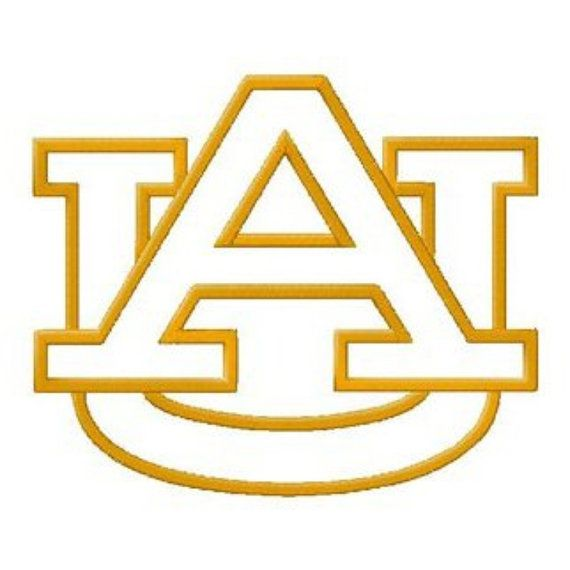 Auburn AU inspired instant download cut file for by bibberberry ... Eagle Football Logo