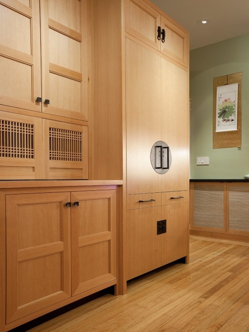 Traditional style japanese kitchen cabinets other for Traditional japanese kitchen