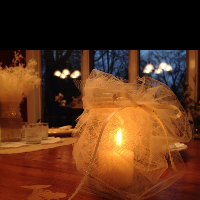 Best ideas about tulle centerpiece on pinterest