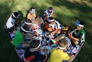 Teddy bear picnic ideas. snacks