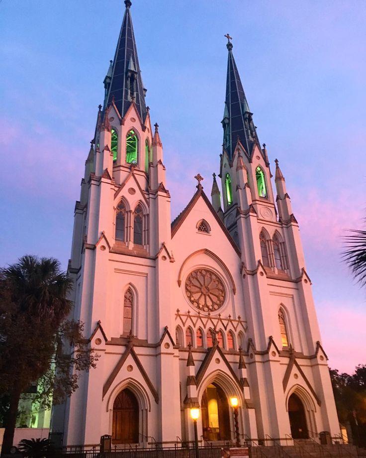 32 Best Savannah Ga Cathedral Of St John The Baptist