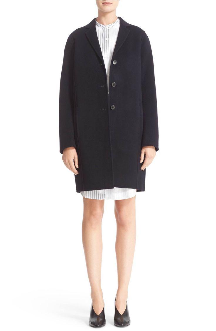 Main Image - ACNE Studios Elsa Double Wool & Cashmere Cocoon Coat