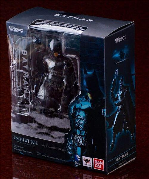 """SHF figuarts Batman INJUSTICE Ver. Batman SHFiguarts Batman PVC Action Figure Collection Toy 6.5"""" 16CM"""