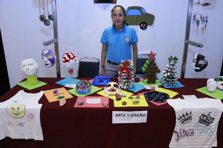 Exponen en Palacio de Gobierno trabajos escolares de fin de ciclo