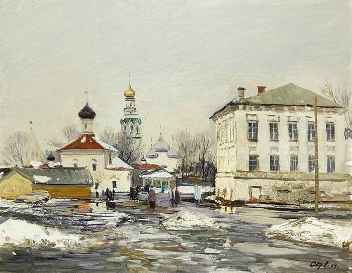 Художник Валерий Страхов. Чудо северного пейзажа. Картины