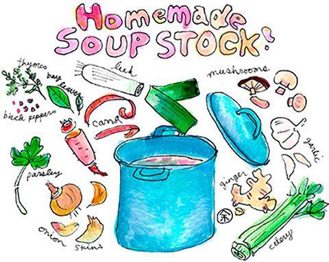 野菜出汁スープストックの作り方