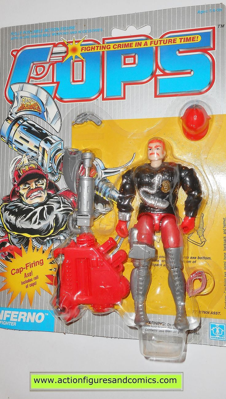 Toys From Hasbro : Best cops n crooks vintage action figure toys