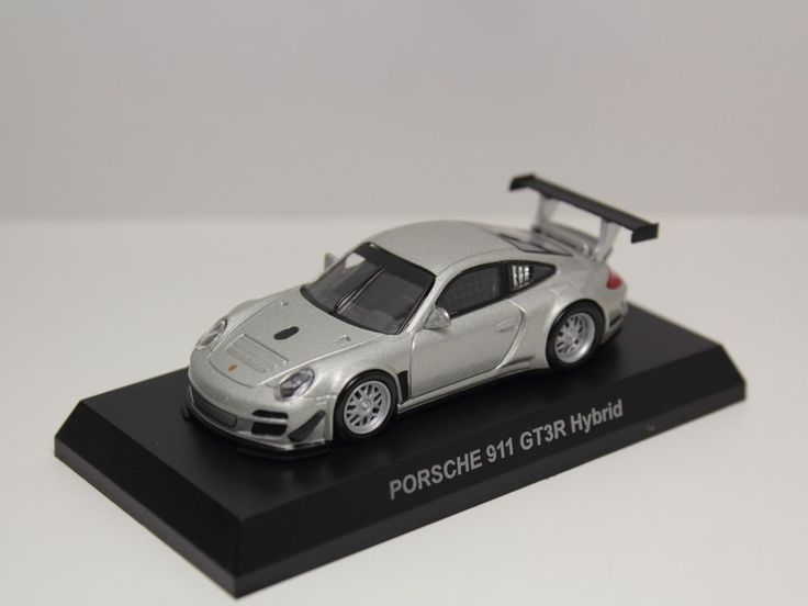 Porsche Silver And Black Toy Car Remote on