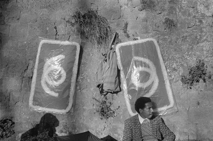 John Vink - Roma. 03/01/82. Porta Portese.