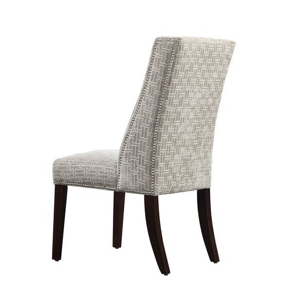 INSPIRE Q Geneva Grey Link Wingback Hostess Chairs (Set of 2) - Overstock Shopping - Great Deals on INSPIRE Q Dining Chairs