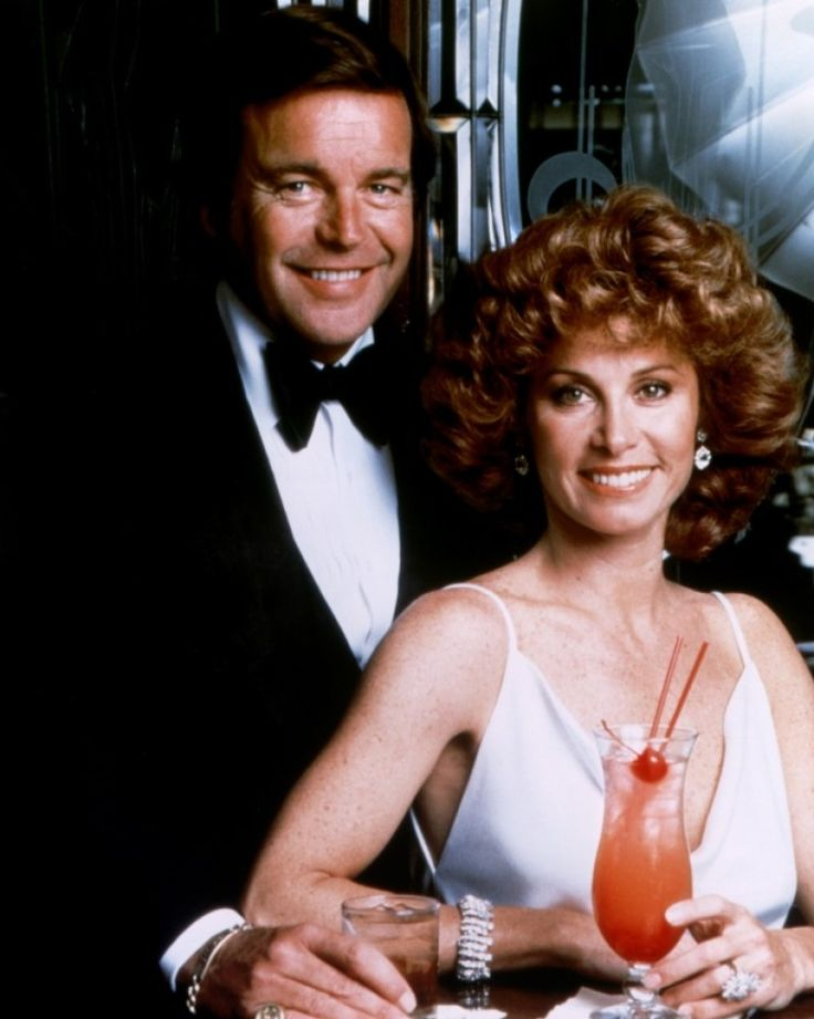 Robert Wagner and Stephanie Powers in the 1980s series 'Hart To Hart'.