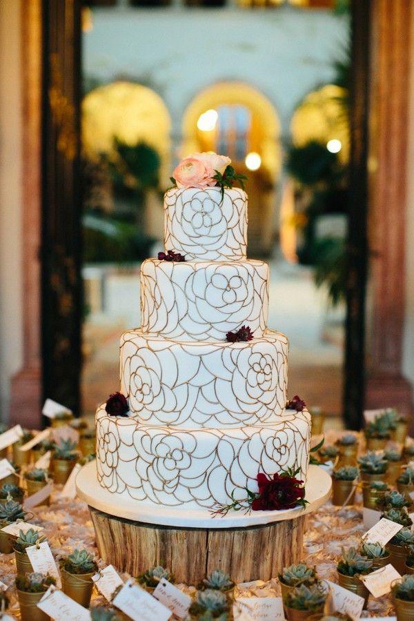 Gatsby-Inspired Florida Wedding at Vizcaya Museum and Gardens