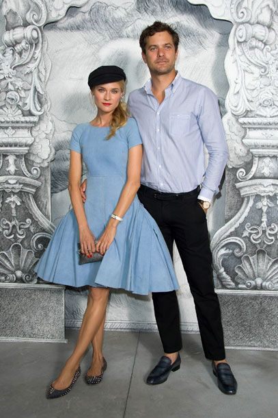diane kruger & joshua jackson at chanel couture: Chanel Couture, Power Couple, Joshua Jackson, Cute Couple, Celebrity Couple, Photo Booths, Couture Fashion, Haute Couture, Diane Kruger