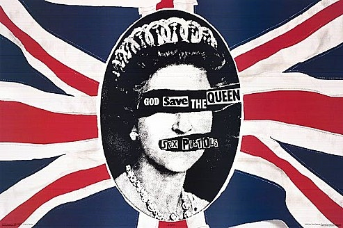 Jamie Reid, Pochette pour le disque Sex Pistols