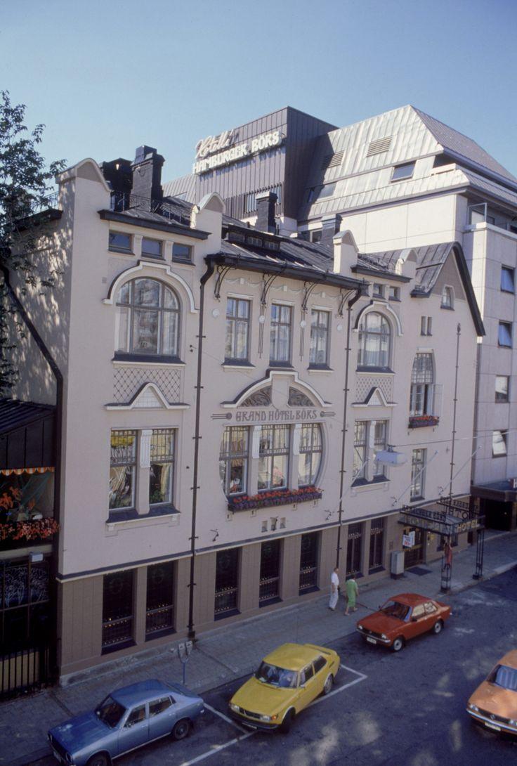 Hotelli Hamburger Börs, Turku, vuonna 1979