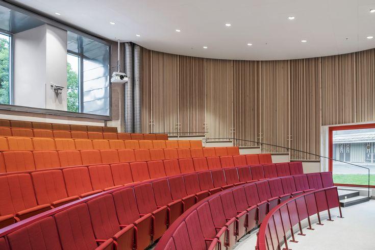 Arrheniushusen Stockholm University. Arkitema Architects.