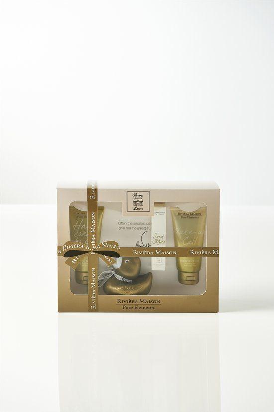 Rivièra Maison Pure Elements - 4 delig - Geschenkset
