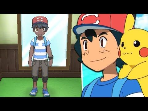 How To Get Ash Ketchum's Alola Clothes (Ash Hat) in Pokémon