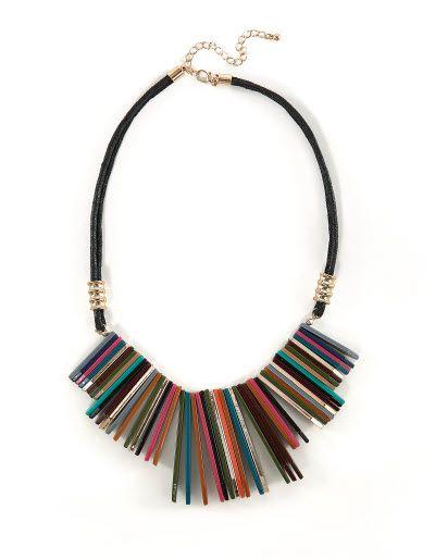 70's Multi Coloured Necklace