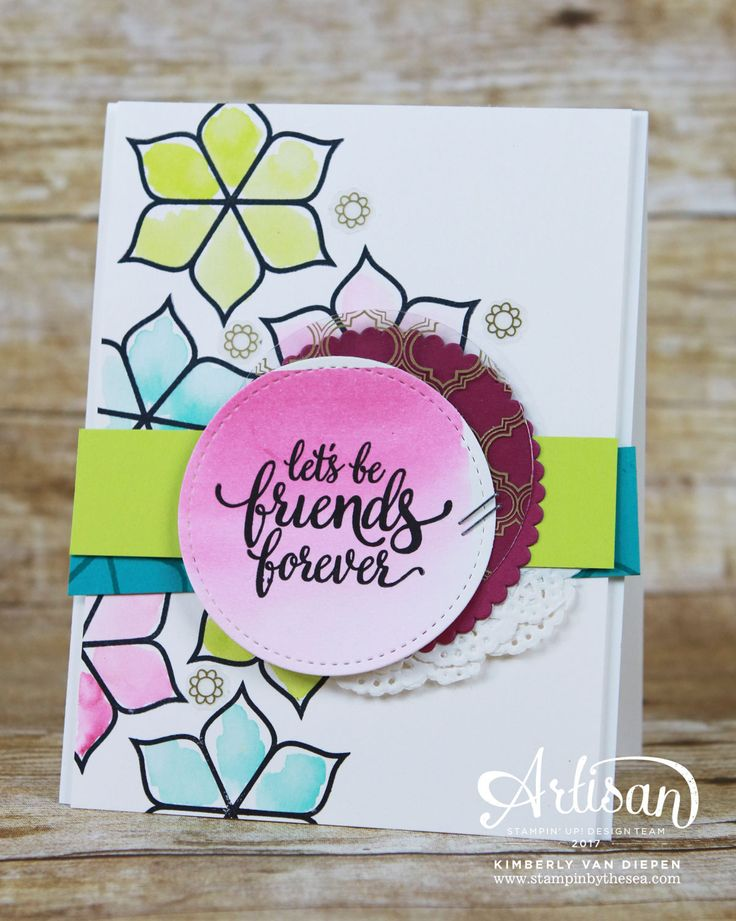 Experience a bold bright Eastern Palace Suite from Stampin' Up!. The possibilities are endless using this suite and you can get this suite now.