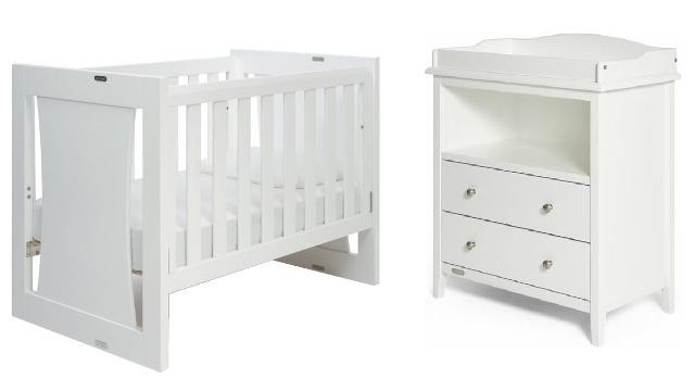 Grotime Rollover Cot & Remark Chest Package $999