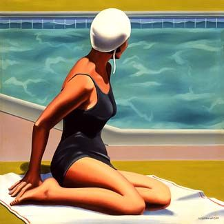 kenton nelson | How would I love this picture or any Kenton Nelson art as a Christmas ...