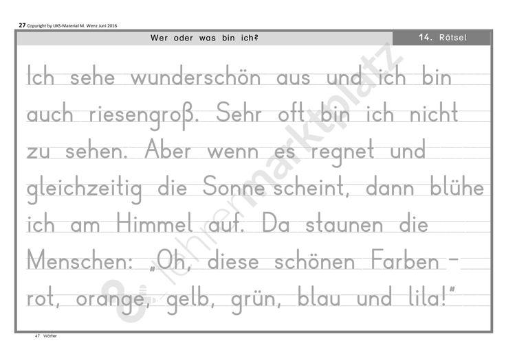 Motivierendes Lesetraining für Leseanfänger - Mein kleines Rätselbuch KOMPLETTPAKET - Seite 27