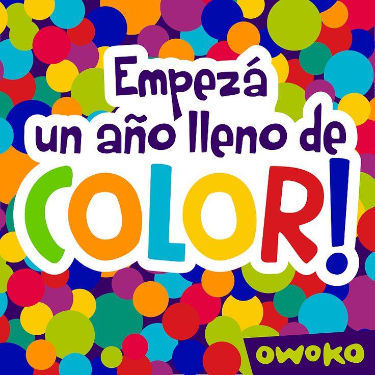 Que tengas un 2014 lleno de color!