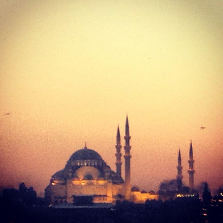 #istanbul #sunset