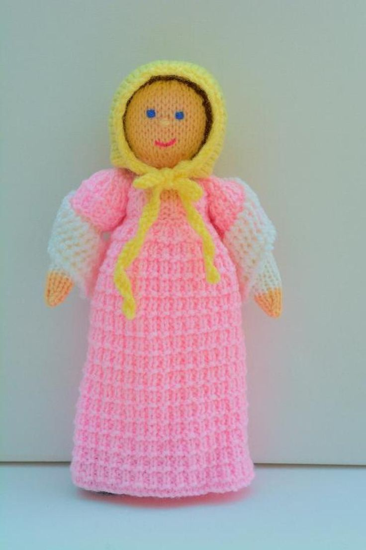 Caroline - A Georgian Doll Knitting Pattern | Craftsy