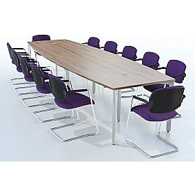 Sven X-Range Barrel #ConferenceTables are available in 3 frame finishes and in multiple colours. Add a little colour to your boring boardroom space with @Office Desks 's Sven X-Range Barrel #ConferenceTables.