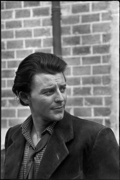 Gerard Philippe par Cartier Bresson #vintage photo