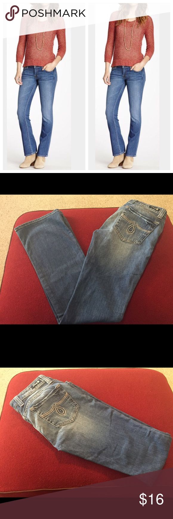 """🎉FLASH SALE🎉Lucky brand Lola bootcut Sz 2/26 🎉FLASH SALE  final price today only!🎉Lucky Brand Lola low rise bootcut jeans sz 2/26. Lightly distressed for that comfortably lived in look (made this way!) Zipper & button fly. 5 pockets. Medium wash. Can be dressed up or down for work or play. Regular inseam. Cotton/poly/spandex blend for comfort & stretch. Waist is 26"""", rise is 7"""" ankle opening is 8"""", inseam is 31"""". Excellent gently used condition. No signs of wear at cuff. 1st pic for…"""