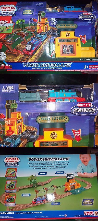 Other Thomas Games and Toys 22721: Thomas And Friends Trackmaster Motorized Railway Power Line Collapse Lights Up -> BUY IT NOW ONLY: $34.99 on eBay!