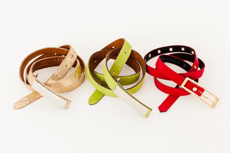 Mardle Belts: Lizzie, Bonnie-fied, Hashtag
