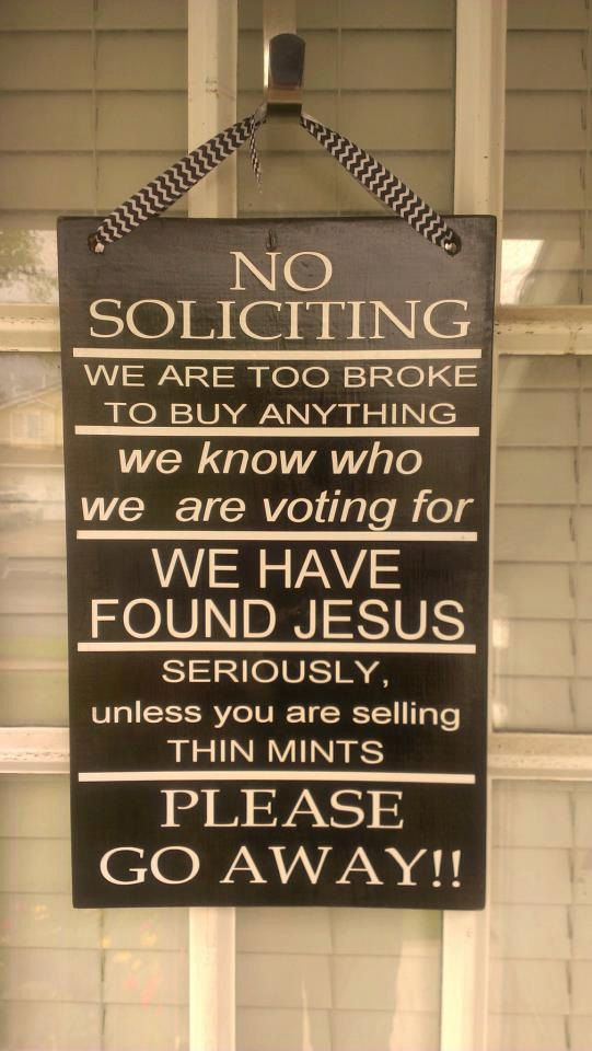 No Soliciting Sign  No Soliciting Unless You by WordArtTreasures