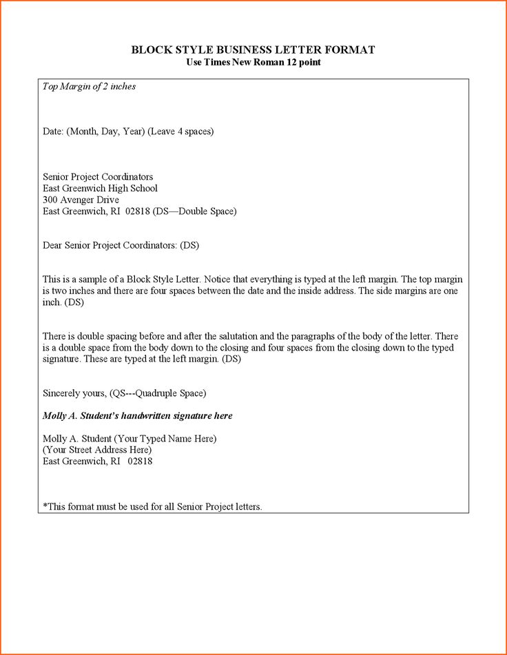 25 Ideias Exclusivas De Business Letter Format Example No