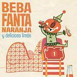 Afiche de bebida de fantasía.