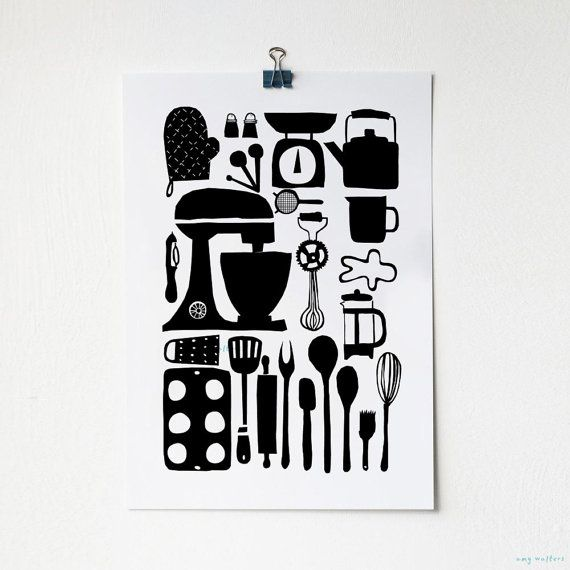 Print * keuken - benodigdheden