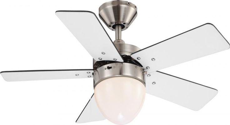 Lustra Ventilator cu palete ventilatie in doua culori Marva 0332 Globo Lighting - Corpuri de iluminat, lustre, aplice