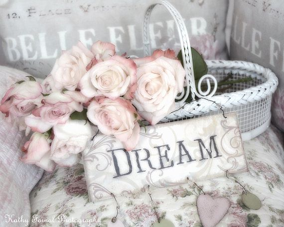 Roses Photography Shabby Chic Decor Dreamy Pastel by KathyFornal