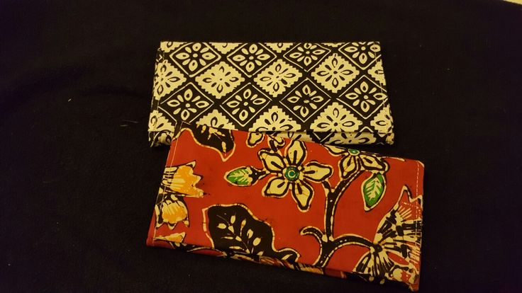 Batik wallets from www.frangibatik.com  In Dublin Ireland EU