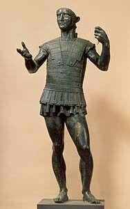 Marte de Todi. Escultura etrusca.