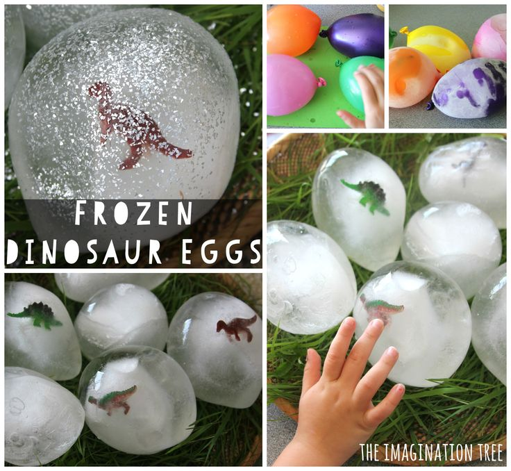 Have wonderful fun with these frozen dinosaur eggs for sensory play and scientific discovery! So easy to make and play with as part of imaginative, small world play scene and great for dinosaur loving kids.  Playing with ice is an absolute favourite sensory and science activity for small kids to explore! We have often enjoyed...Read More »
