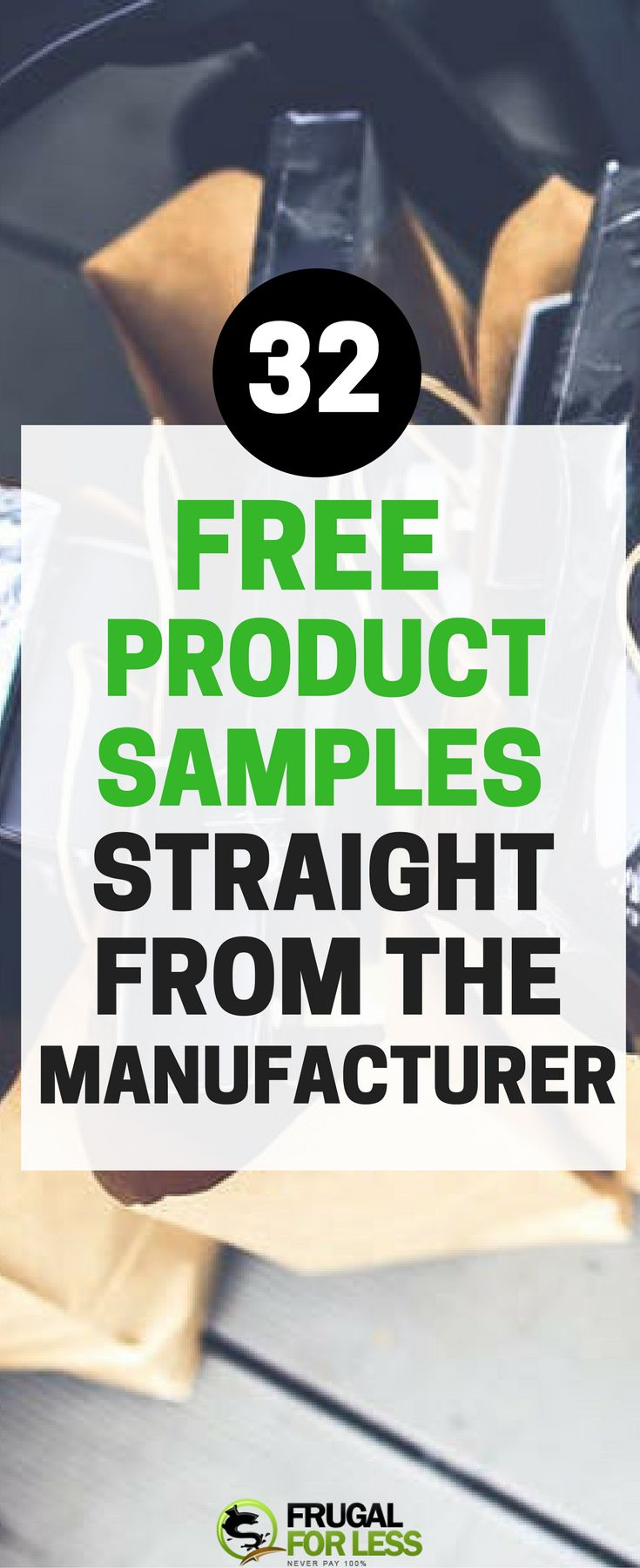 What?!? 32 Free product samples straight from the manufacturer! #freesamples #freebies #coupons #frugal #frugalliving #frugallivingtips #frugality #produtsamples #freeproductsamples #freestuff