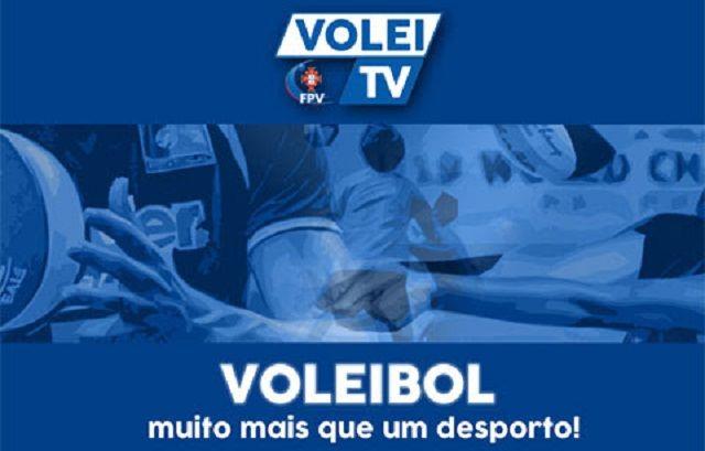 Voleibol: Volei TV transmite em directo o 5º jogo do Playoff da I Divisão