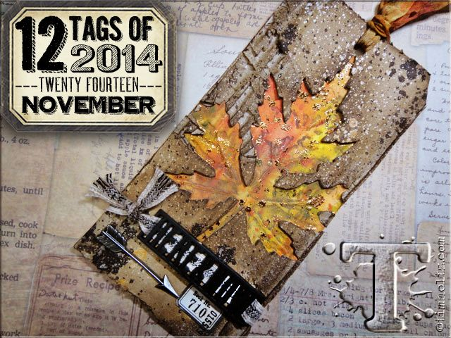 12 tags of 2014 – november… Tim Holtz