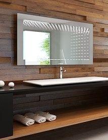 Lustro łazienkowe 3D illusion LED z oświetleniem LED