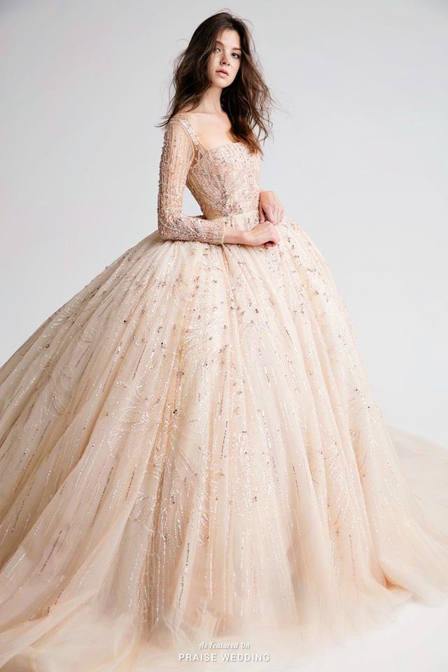 Dress: Nicole + Felicia Couture